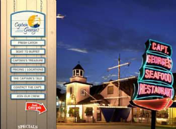 Captain Georges Seafood Restaurant Restaurants By Hampton
