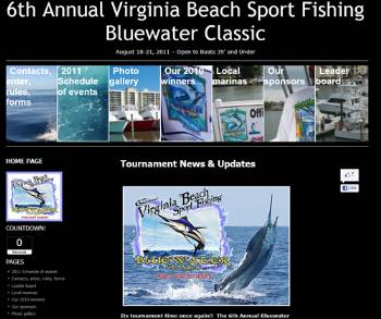 Virginia beach sport fishing hampton roads recreation by for Hampton roads fishing report