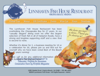 Lynnhaven fish house restaurants by hampton roads business for Lynhaven fish house